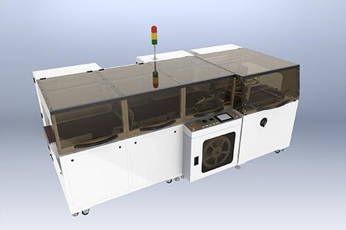 ESD4015M全自动连续移刀式封切机